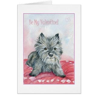 Soyez le mien, carte de Valentine