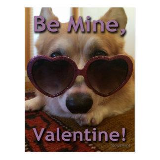 """""""Soyez le mien, Valentine !"""" Carte postale de"""