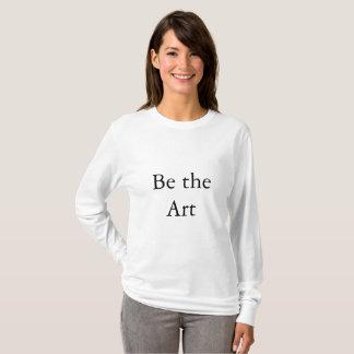 Soyez le T-shirt à manches longues d'art