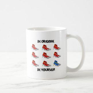 Soyez les baskets originaux mug blanc