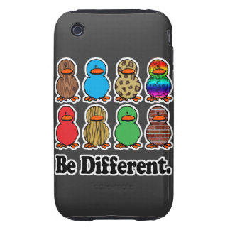 soyez les canards mignons de motif drôle différent coque iPhone 3 tough