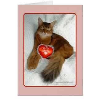 Soyez ma carte de Valentine Kitty