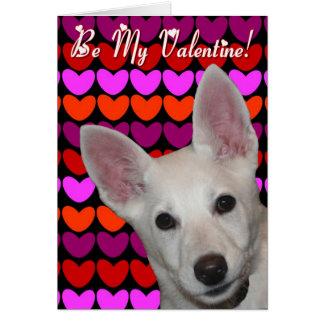 Soyez ma carte de voeux de Valentine