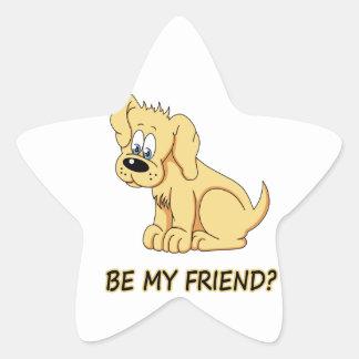Soyez mon ami ? sticker étoile