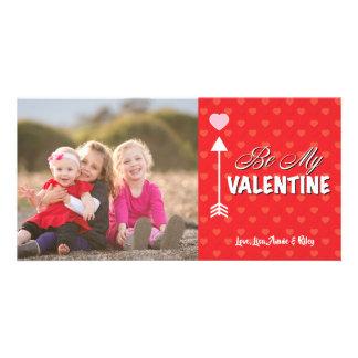 Soyez mon carte photo de Saint-Valentin de