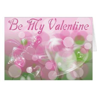 Soyez mon rose de Valentine Cartes