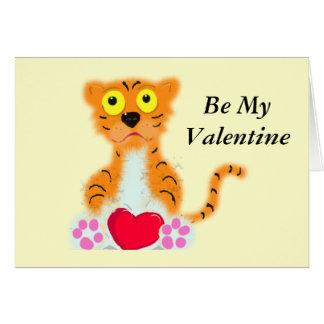 , Soyez mon Valentine Carte De Vœux