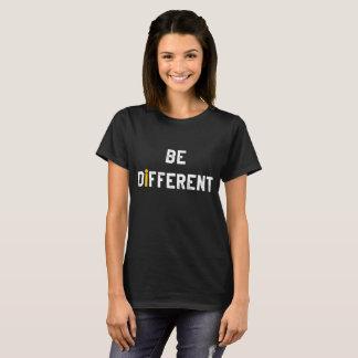 Soyez motivation différente t-shirt