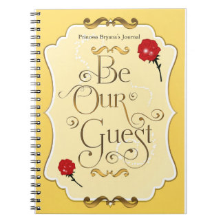 Soyez notre princesse Notebook Journal de rose