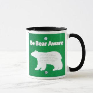 Soyez ours averti mug