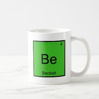 Soyez - pièce en t drôle de symbole d'élément de mug