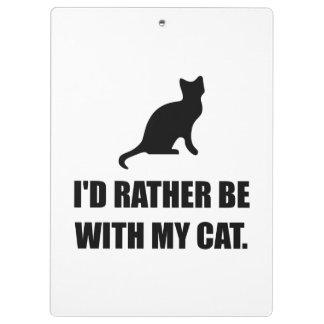 Soyez plutôt avec mon chat