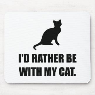 Soyez plutôt avec mon chat tapis de souris