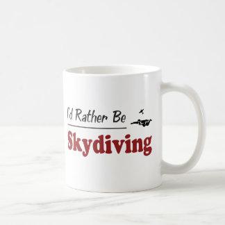 Soyez plutôt parachutisme mug