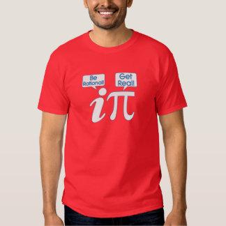Soyez rationnel ! Obtenez vrai ! Pièce en t de T-shirt