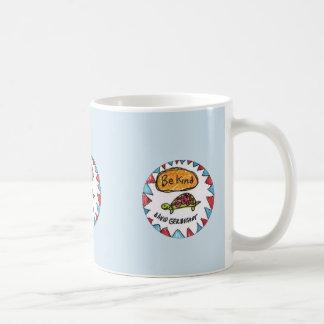 Soyez tasse aimable de tortue