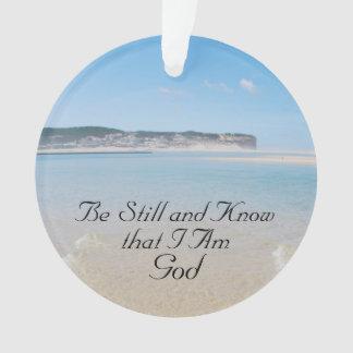 Soyez toujours et sachez que je suis Dieu, plage