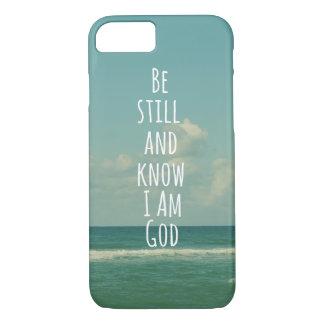 Soyez toujours et sachez que je suis vers de bible coque iPhone 7