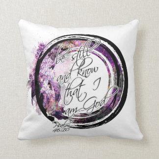 Soyez toujours guirlande florale de lavande oreillers