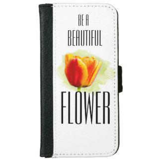 Soyez une belle fleur [la caisse de portefeuille