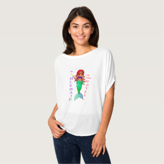 Soyez une sirène t-shirt