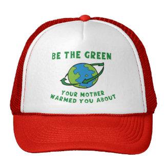 Soyez vert casquette