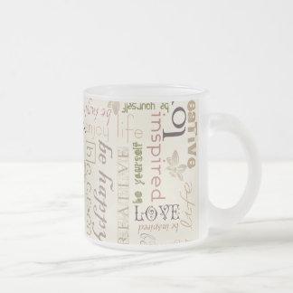 Soyez vintage tasses à café
