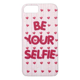 soyez votre citation de selfie coque iPhone 7