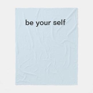 soyez votre couverture d'individu