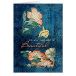 Soyez votre propre genre de beau cartes de vœux