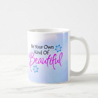 Soyez votre propre genre de belle tasse audacieuse
