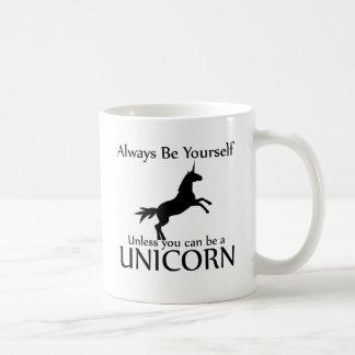 Soyez vous-même licorne mug