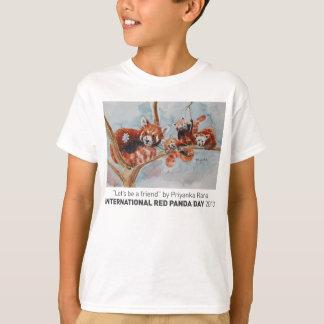 """""""Soyons la pièce en t d'un enfant d'ami"""" T-shirt"""