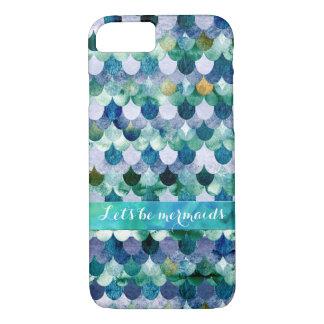 Soyons motif sirène-Coloré de Mermaidscales Coque iPhone 7