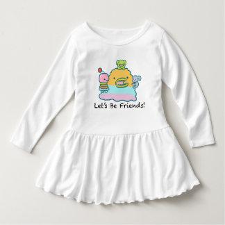 Soyons robe de ruche d'enfant en bas âge d'amis
