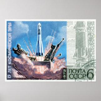 Soyuz Rocket Affiches