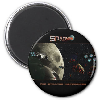 Space 1999 magnet rond 8 cm