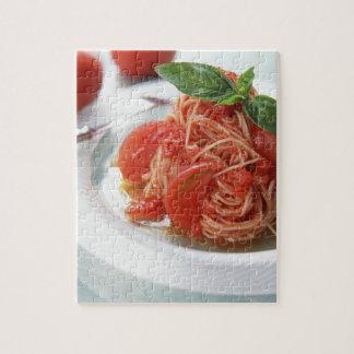 Spaghetti de tomate puzzle