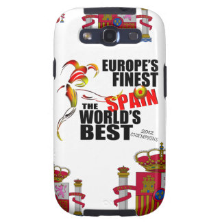 Spain 2012 Euro Cup Champs Samsung Galaxy Case Galaxy SIII Cases