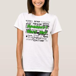 Spam de Spam de chemise d'inondateur T-shirt