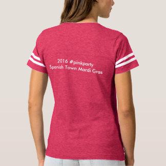 Spanish Town 2016 - Le football ROSE T-shirt