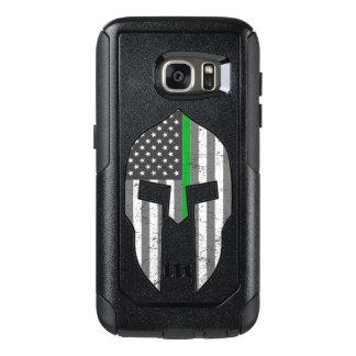 Spartiate américain de Ligne Verte mince Coque OtterBox Samsung Galaxy S7