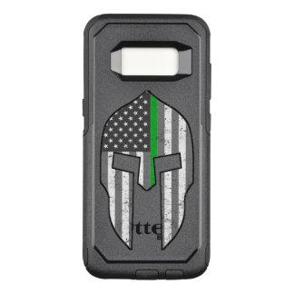 Spartiate américain de Ligne Verte mince Coque Samsung Galaxy S8 Par OtterBox Commuter