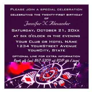 Special Birthday Celebration Custom Announcements