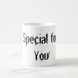 Special pour vous mug blanc