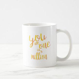 [Special] un dans million Mug Blanc