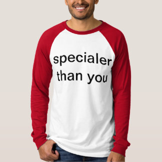 Specialee T-shirts