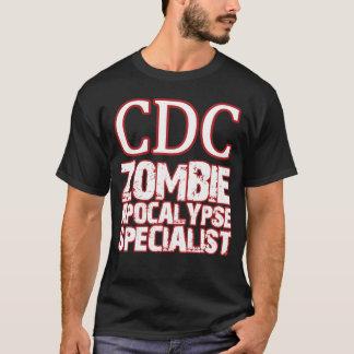 Spécialiste en apocalypse de zombi de CDC T-shirt
