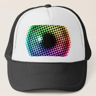 Spectre de couleur d'oeil de licorne d'iris casquette trucker