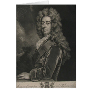 Spencer Compton, comte de Wilmington Carte De Vœux